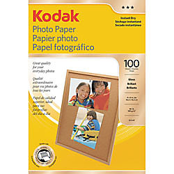 Kodak Photo Paper 8.5 x 11 – Glossy Finish – Perfect for Photo Printing
