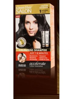 Lover's Hair Colouring Shampoo No. 1 Black